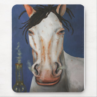 High Horse Mouse Pad