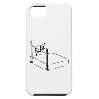 High Jump StickMan Track and Field iPhone 5 Case