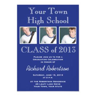 High School Athlete Graduation Party 13 Cm X 18 Cm Invitation Card