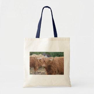Highland Cow Budget Tote Bag