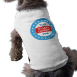 Hillary Clinton 2016 Sleeveless Dog Shirt