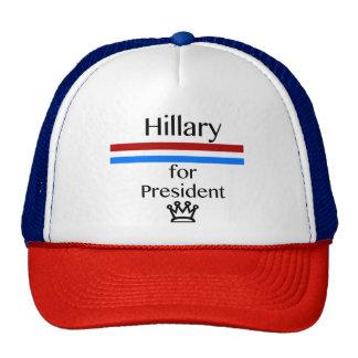 Hillary For President Political Hat