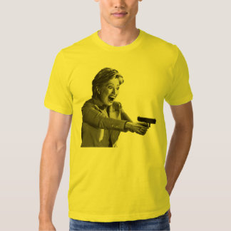 Hillary Shooter T-shirts