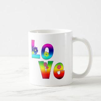 Hippie LOVE Basic White Mug