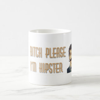 HIPSTER BASIC WHITE MUG