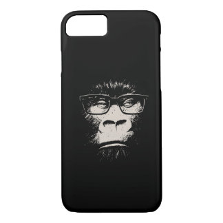 Hipster Gorilla With Glasses iPhone 7 Case