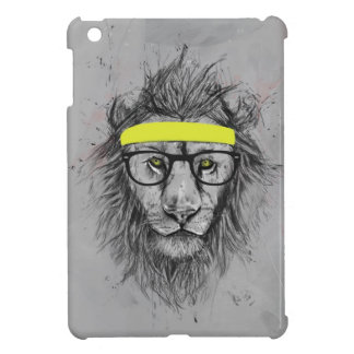 hipster lion iPad mini covers