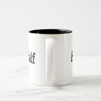 His Better Half 2 Two-Tone Mug