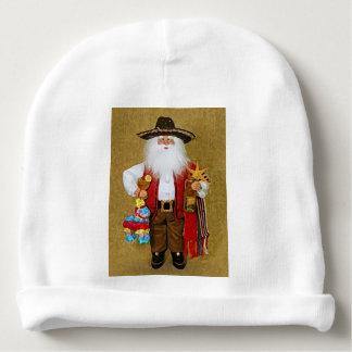 Hispanic Mexican Southwestern Texan Santa Claus Baby Beanie