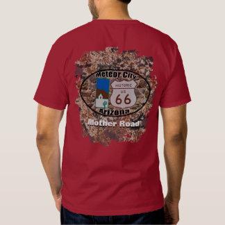 Historic Route 66 ~ Meteor City, Arizona T-shirt