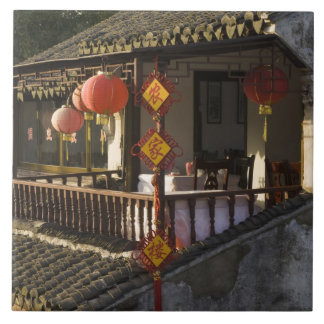 Historic Zhouzhuang Water Village, Zhouzhuang, Large Square Tile