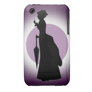 Historical Fashion: Rain Woman iPhone(3) CaseMate iPhone 3 Cases