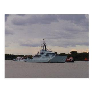 HMS Tyne Postcard