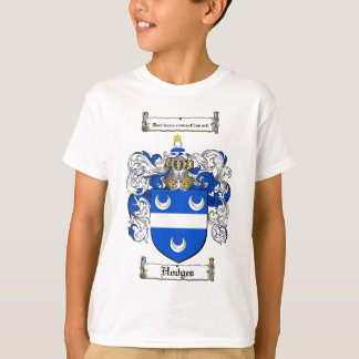 HODGES FAMILY CREST -  HODGES COAT OF ARMS TEE SHIRT