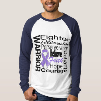 Hodgkins Lymphoma Warrior Collage Tee Shirts