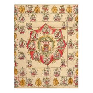 Hokke Mandala Postcard