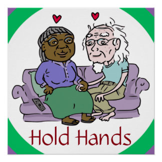 HOLD HANDS poster