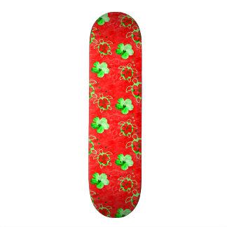 Holiday Honu Turtles 19.7 Cm Skateboard Deck