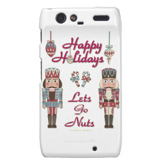 Holiday Nutcracker Lets Go Nuts Droid RAZR Covers