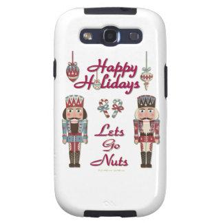 Holiday Nutcracker Lets Go Nuts Samsung Galaxy S3 Cases