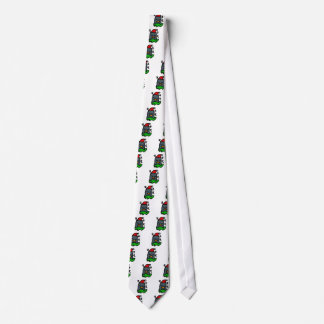 Holiday Zzz Penguin by Penguin World Order Designs Tie