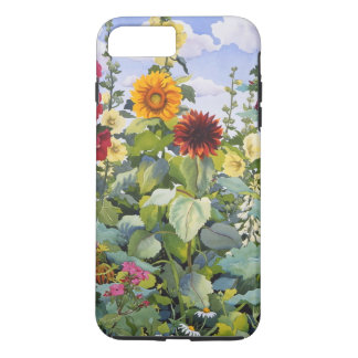 Hollyhocks and Sunflowers 2005 iPhone 7 Plus Case
