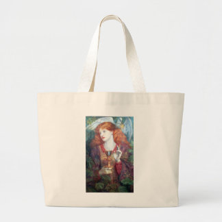 Holy Grail Woman & Chalice Jumbo Tote Bag