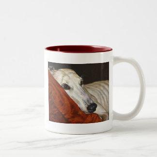 Home At Last Greyhound Rescue Dog Mug Cup