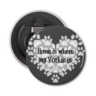 Home is where my Yorkie is Quote