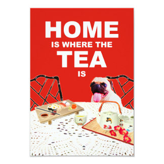 Home is Where the Tea is Housewarming Invitation