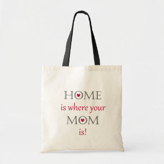 Home Is Where Your Mom Is Tote Bag