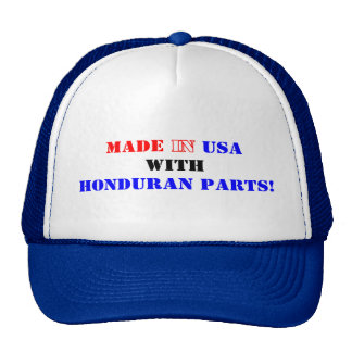 HONDURAN PARTS CAP