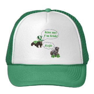 Honey badger v's meerkats cap