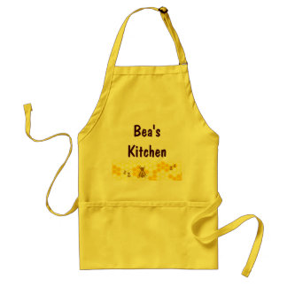 Honey Bee Honeycomb Custom Apron