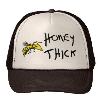 Honey Thick handwritten font hat