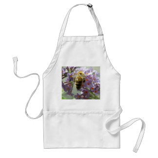 Honeybee and Buddleia Flowers Apron