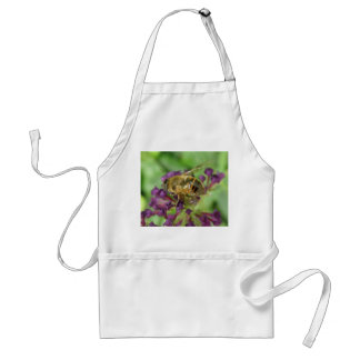 Honeybee and Purple Flowers Apron