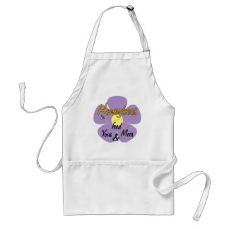 Honeybees feed Yous & Mees (Mauve) - Apron
