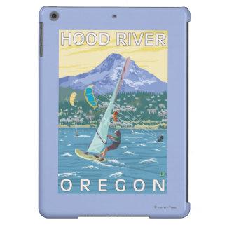 Hood River, ORWind Surfers & Kite Boarders iPad Air Cover