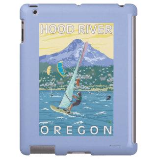 Hood River, ORWind Surfers & Kite Boarders iPad Case