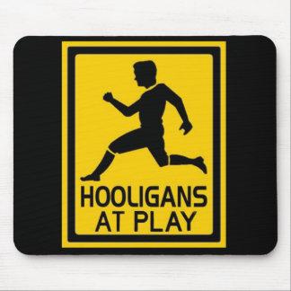 Hooligans At Play Mouse Pad