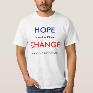 HOPE, CHANGE TEE SHIRTS