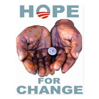 Hope for Change Postcard