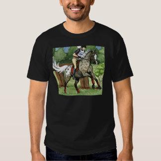 Horse Art APPALOOSA Eventing T-shirts