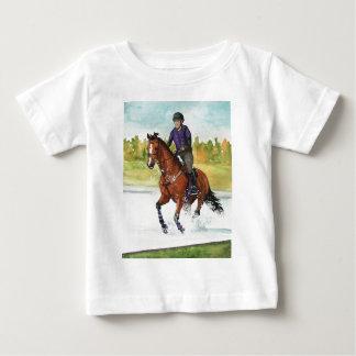 HORSE ART Cross-Country Thru Water Infant T-Shirt