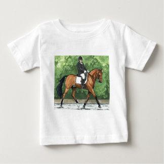 Horse Art Dressage Horse Bay Trotting T Shirt