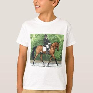 Horse Art Dressage Horse Bay Trotting Tees