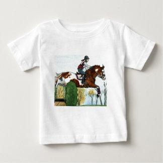 Horse Art Flying Paint Horse XC Tees