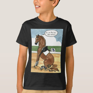 Horse art ON THE BIT now what T-shirts