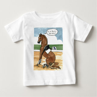 Horse art ON THE BIT now what Tee Shirts